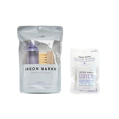 Jason Markk Essential Kit and Premium Shoe Cleaner (Bundle) XOZx5TBRS