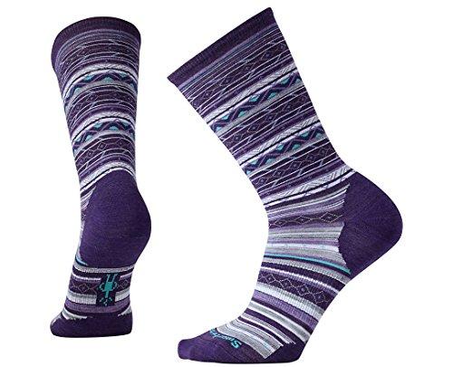 Smartwool Women's Ethno Graphic Crew Socks Large
