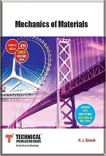 Buy Mechanics of Materials for VTU ( Sem-III MECH CBCS Scheme 2015