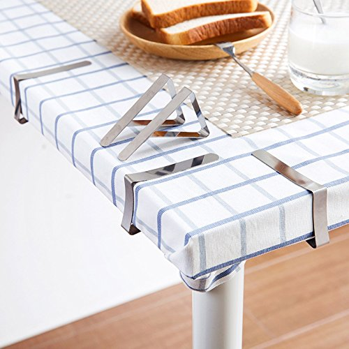Alamic Tablecloth Clips Picnic Table Clips Stainless Steel