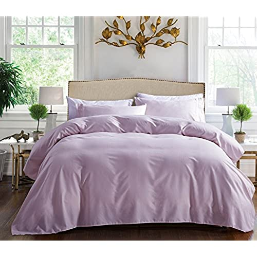 1800 series egyptian collection 3 line microfiber 4 piece bed sheet set queen lilac - Liliac Bedding