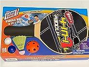 Whamo Paddle Ball 4 in 1 Set