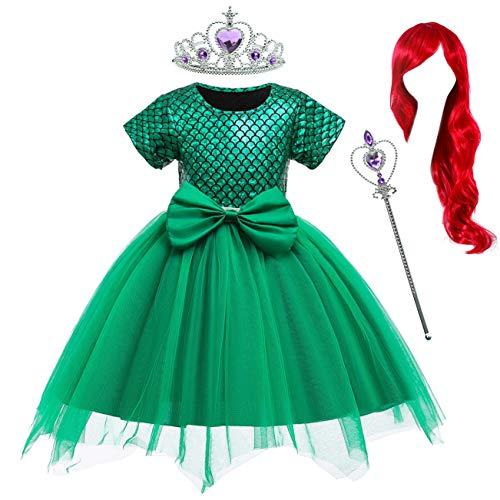 Costumes Birthday Party Dress - Princess Ariel Little Mermaid Costume Birthday