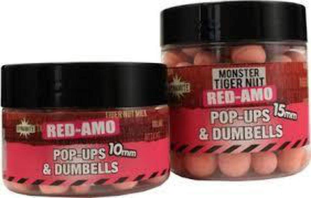 Pink Fluro Pop-ups & Dumbells RED-AMO 15mm Pot: Amazon.es: Deportes y aire libre