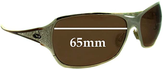 cfd717e076 Amazon.com  SFx Replacement Sunglass Lenses fits Oakley Behave 65mm wide (Polycarbonate  Clear Hardcoat Pair-Regular)  Clothing