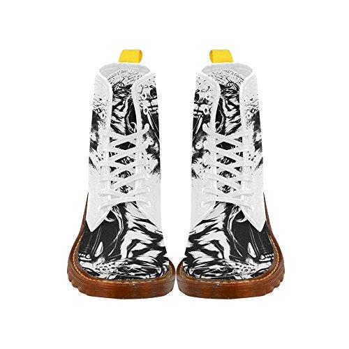 Laceprint Tigre Impressionprint Bottes Bottes De Mode Pour Les Femmes