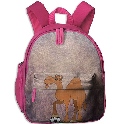Kalencom Giraffe - Toddler Pre School Backpack Boy&girl's Playing Football Camel Book Bag