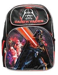 "Backpack - Star Wars - Darth Vader 16"" School Bag New 659455"