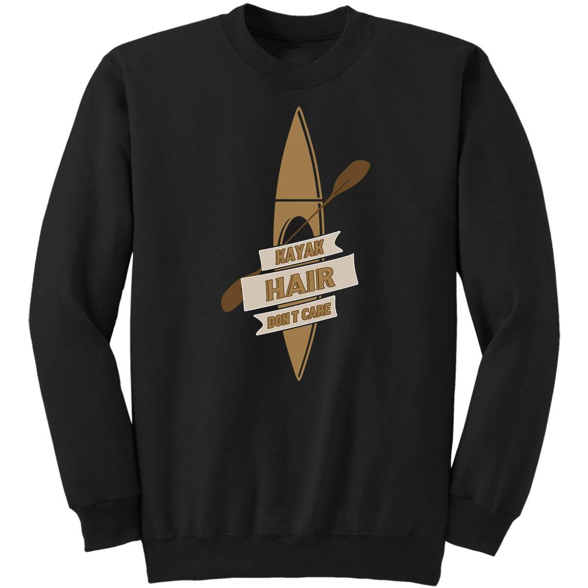 DoozyGifts99 Kayak Hair Dont Care-Gag Gift Kayak Sweatshirt
