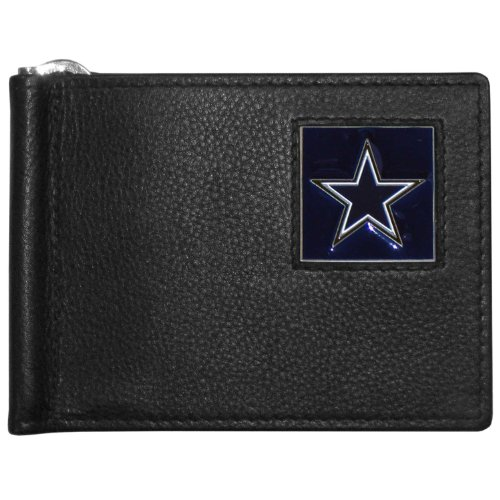 NFL Dallas Cowboys Leather Bill Clip Wallet ()