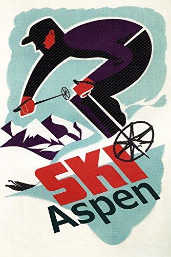 Aspen Vintage Poster - 2