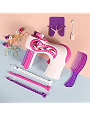 Stylish Braiding Hairstyle Set for Girls, Automatic battery machine for Braiding Cum Toy for Girls, Best Gift -Adam Shopping
