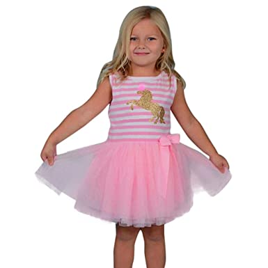 b2d55110765d1 DAY8 Robe Fille Cérémonie Princesse Tulle Costume Vetements Bébé Fille  Naissance Pas Cher Robe Fille 1