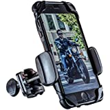 Dogo Cruiser: with SecureLock Technology Universal Motorcycle Phone Mount - Fits iPhone X, 8, 8Plus, 7, 7Plus, 6s, 6s Plus | Galaxy S8, S7, S6 | LG or HTC - Wind Resistant up to 150MPH