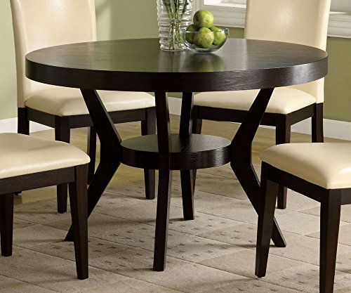Furniture of America CM3423T Downtown I Pedestal Dining Tables
