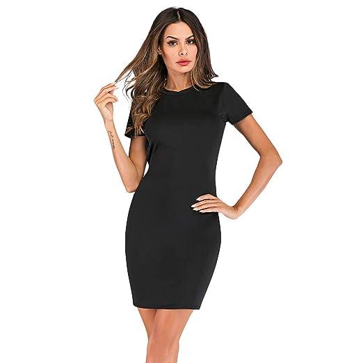 18b8f680f4f CHLZYD Women Summer Casual Ladies Mini Hollow Out Short Dress at ...