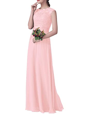 563e1cd2474 H.S.D Bridesmaid Dresses Formal Evening Dresses Modest Bridesmaid Gowns  Baby Pink 2