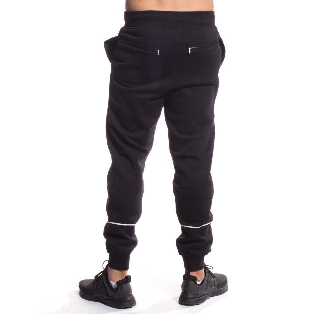 Grimey Pantalon Chandal Core Sweat Pants FW16 BLACK-3XL: Amazon.es ...