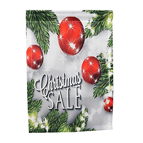 18' Tropical Decor (Hatop Flags, Merry Christmas Garden Flags House Decor Mini Yard Banner 12'' x 18'' (G))