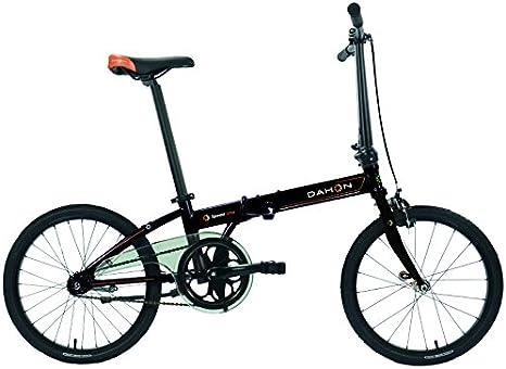 Dahon Speed uno Bicicleta Plegable para Adulto, Obsidian, Talla 20