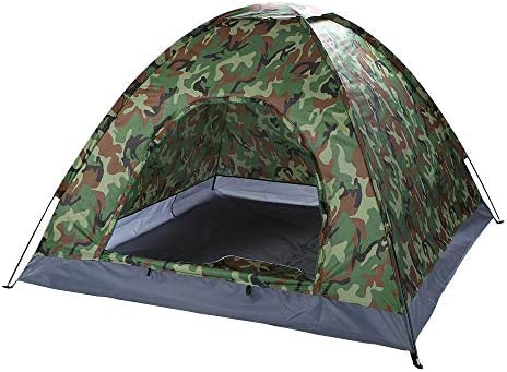 Camping Tent 3-4 Person with Carry Bag for Made of Quick Setup,Professional Waterproof,Windproof Anti-UV Fabric