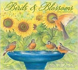 Birds & Blossoms 2014 Deluxe Wall Calendar