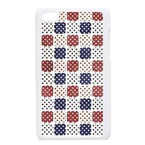 JJZU(R) Design DIY Phone Case with Lattice Pattern for Ipod Touch 4 - JJZU907566