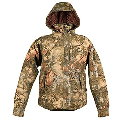 King's Camo Classic Cotton Insulated Ripstop Hooded Jacket