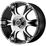 "American Racing Dagger Wheel with Gloss Black Machined (18x8""/5x5"")"