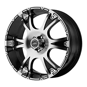 "American Racing Dagger Wheel with Gloss Black Machined (17x8""/5x5"")"