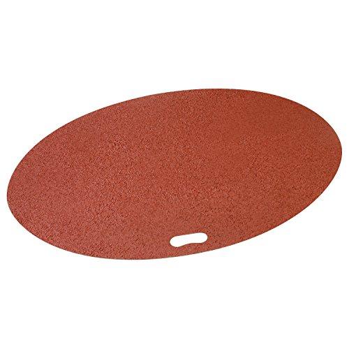 - The Original Grill Pad Brick Grill Pad, Oval