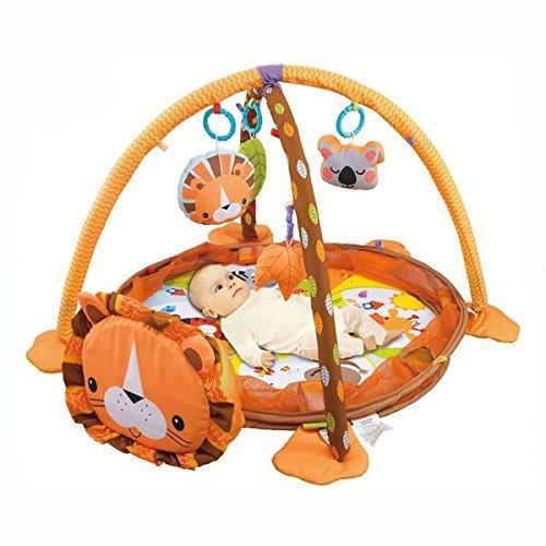 color/é Tapis de jeu Tapis d/éveil et balle Pit par Babyhugs/ /Lion