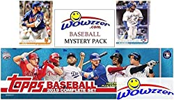 Wowzzer! We are Very Proud to offer this Amazing 2019 Topps MASSIVE MLB Baseball EXCLUSIVE Complete Factory Sealed Retail Factory Set! This HUGE Factory Sealed Complete Factory Set includes a Total of 706 Cards all in MINT Condition! You Get all 700 ...