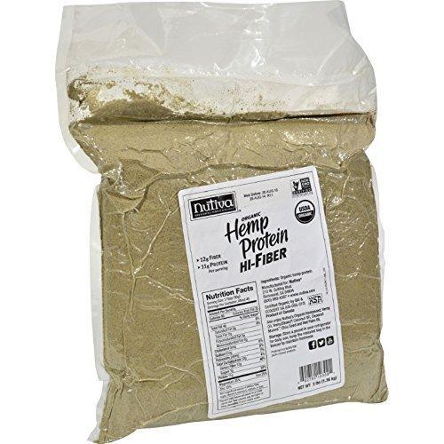 Nutiva Hemp Protein Hi Fiber Og2 3 Lb