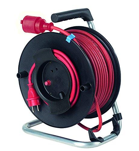 As - Schwabe 12234 Sicherheits-Gerätetrommel 285mmØ 40m H07RN-F 3G1,5, rot IP44 Gewerbe, Baustelle B00412LI86 | Vorzugspreis