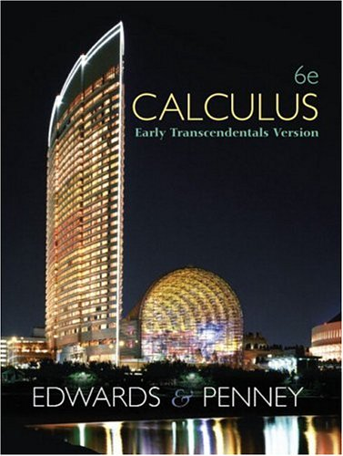 calculus early transcendentals third edition pdf