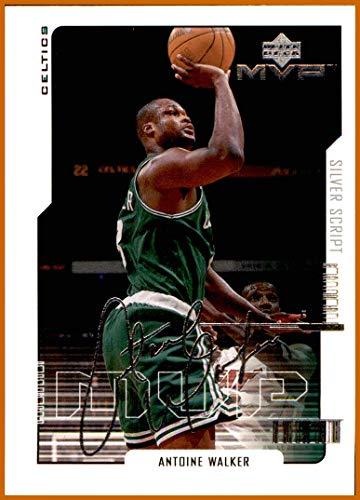 2000-01 Upper Deck MVP Silver Script #8 Antoine Walker BOSTON CELTICS KENTUCKY WILDCATS