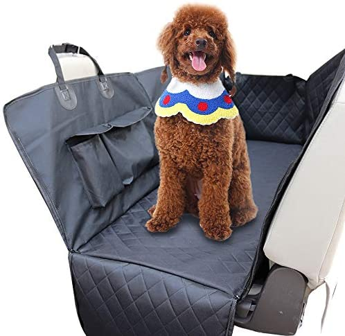 Dog Mat Back Seat Cover Protector-Waterproof Scratchproof No- Slip Hammock-Against Dirt and Pet Fur-Durable Pets Seat Covers for Cars SUVs Stock in US
