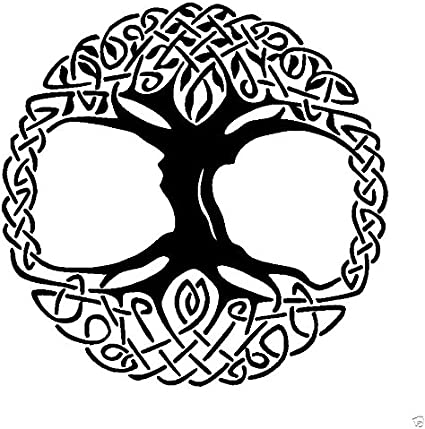 Amazon Com Celtic Tree Of Life Rubber Stamps Custom Stamps Rubber Toys Games