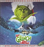 Dr. Seuss' How the Grinch Stole Christmas, Collector's Edition, DVD Interactive Play Set (3 Pop-up Scenes in Hardcover Book)