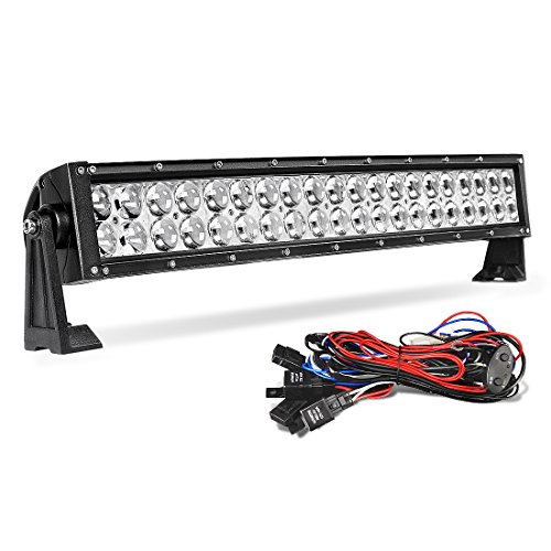 AUTOSAVER88-Combo-LED-Offroad-Light-Driving-DRL-Lamp-4WD-SUV-UTE-Jeep-Wire-Harness