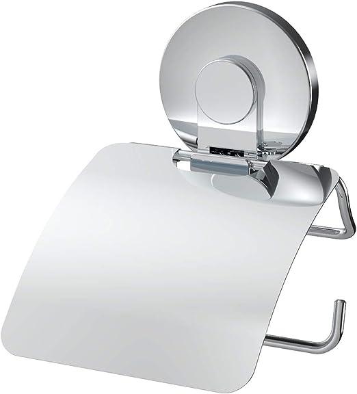 Homovater Accessori da bagno autoadesivi tra cui porta rotolo di carta igienica Porta asciugamani ad anello Porta asciugamani e porta asciugamani confezione da 4 pezzi