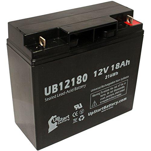 APC SUA1500US Battery - Replacement UB12180 Universal Sealed Lead Acid Battery (12V, 18Ah, 18000mAh, T4 Terminal, AGM, SLA)