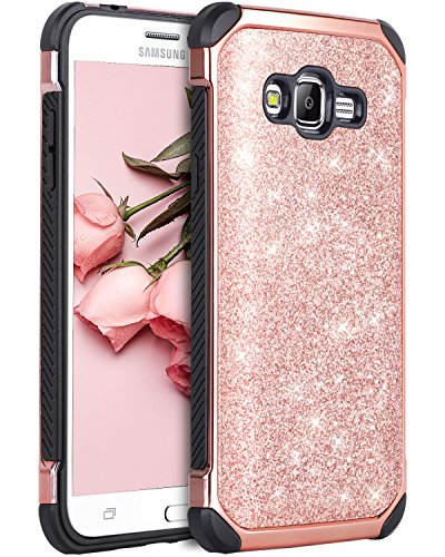 Cheap Cases Galaxy Grand Prime Case, Galaxy J2 Prime Case, BENTOBEN Glitter 2 in..