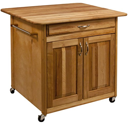Catskill Craftsmen 63037 The Big Work Center with Solid (Catskill Butcher Block Island)