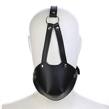 Pavian - Arnés de Piel para máscara de Disfraz, Capucha y Casco ...