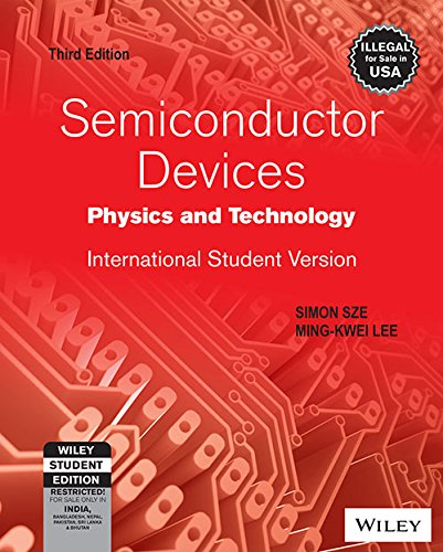 Read Online Semiconductor Devices: Physics And Technology - International Student Version, 3Ed pdf