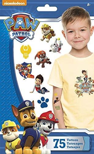 Amazon.com: Standard Tatto Bolsa – Paw Patrol – Temporal ...