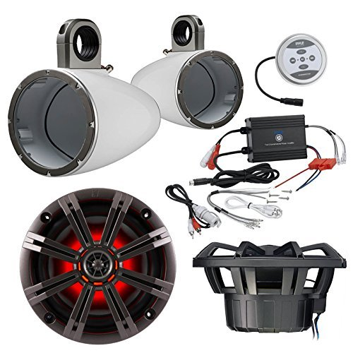 6 5 Speakers With Led Lights - 9