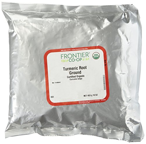 Frontier Turmeric Root Powder Organic Fair Trade Certified, 1 lb